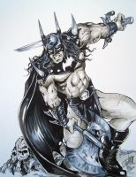 Savage Sword Of Batman By DW Miller by ConceptsByMiller