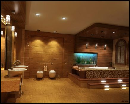 Bathroom by Overstone