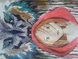 Little Red Riding Hood by leahmelanieee