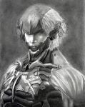 MGS4 Raiden by Graphite88