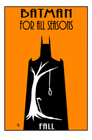 Batman For All Seasons Fall by EarthmanPrime