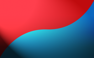 Red and Blue Wallpaper by zedi0us