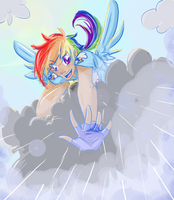 RainbowDash - Human by Himram