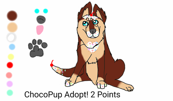 ChocoPup Adopt! - OPEN by Rainstorm1414