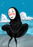 No Face-Completely Ridiculous by blackbirdsfly