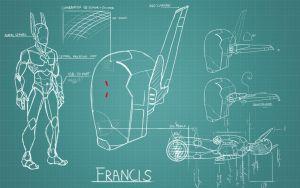 Schematic Francis Wallpaper by kamidog