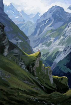 In the mountains by consoroza