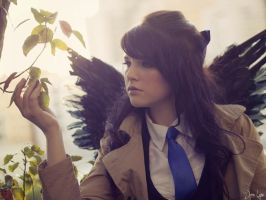 Fem Castiel from Supernatural Cosplay 2 by SNTP