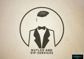 Logodesign (Butler And VIP-Services) by ShatteredGraphicss