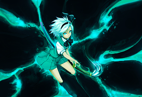 Youmu Smudge Power by Aoi-Heart