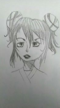 new drawing by Gumi07wolfgirl