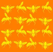 Bee vs Wasp Design by Ryanboy
