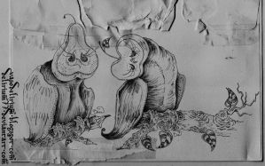 the pear and the apple against racism by vasodelirium