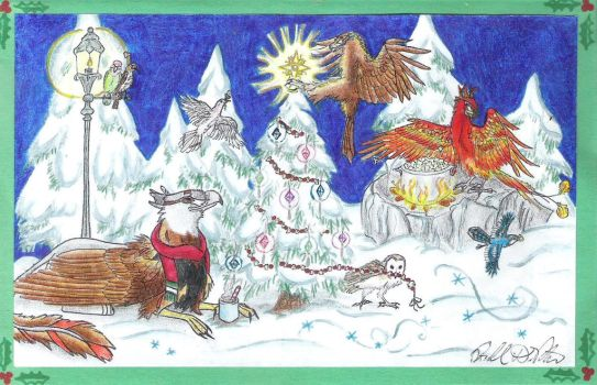 Holiday Card Project 2015 by EagleFlyte
