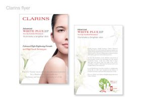 Clarins White Plus Ad by dustbean11