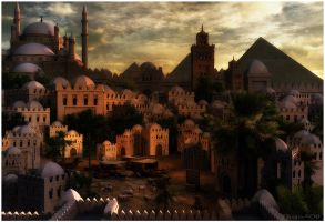 Old Cairo by EhsanA