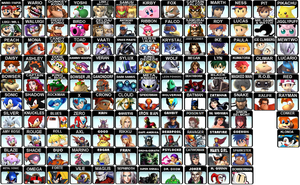 AFTER Brawl Roster Revised by LightDemonCodeH