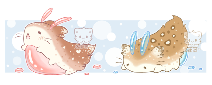 [CLOSED] Slug Kittens #2 and #3 by Sarilain