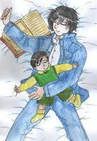 Sirius n Baby Harry - By Angel by sirius-angel