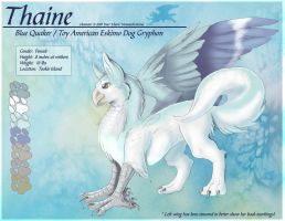 Thaine - Reference by Ulario