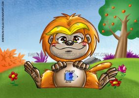 Golden Lion Tamarin by Emerson-Fialho