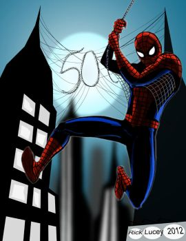 Spider-Man 50 Years of web slinging! by Drawrick