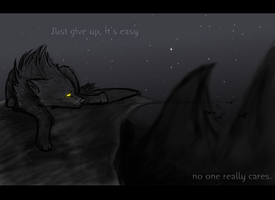 to give up by thelunacy-fringe