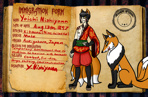 Yoichi Regnuminferius Application by SalemTheCat23