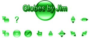 Globes by Jim - Green by jamest