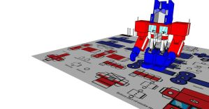 lil optimus in 3d 5 by Lilscotty