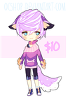 [OPEN] ADOPTABLE #5 | SETPRICE $10 by OCshop