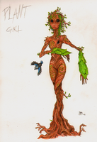 07 - Plant Girl by LadyVentuswill