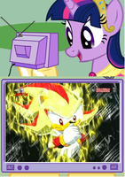 twilight likes super shadow. by brandonale
