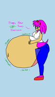 Request Amy vore by Ant-D
