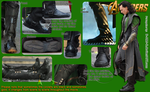 Loki's Boots (from The Avengers) by D-AMJ-C