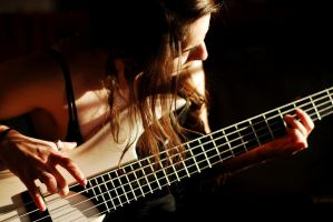 The Bass Player by Bardunor
