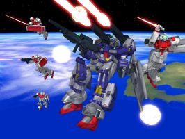 XMS02 Space Battle by Level60Healbot