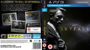 007: Skyfall - PlayStation 3 Game Cover by CrustyDog