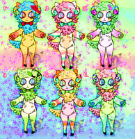 CANDY MEWEEP ADOPTS by MoggieDelight