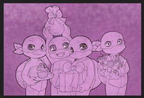 TMNT: Happy B-day by NamiAngel