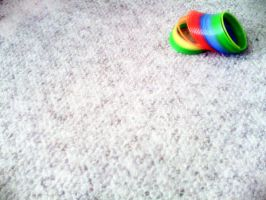 Rainbow Slinky by scientiaofborg