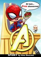 WELCOME HOME SPIDEY by Gad by Dreamgate-Gad