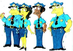 The cops by Eddie-Lou-Fan
