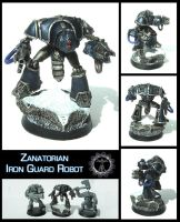 Iron Guard Robot Model by Proiteus