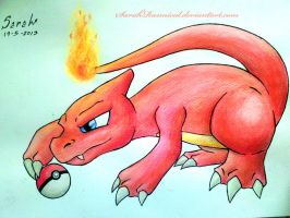 Charmeleon (19-5-2013) by SarahRasmical