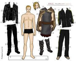 True blood - Eric paper doll by Deerane