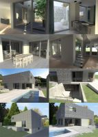 Villa in Chene-Bourg by Crooty