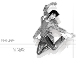 SHINee Wallpaper  Minho by browneyedfairy23