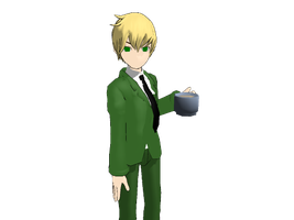 MMD England model download by Mikaelah98