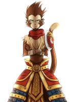Wukong: Bring me a real challenge by Abakura